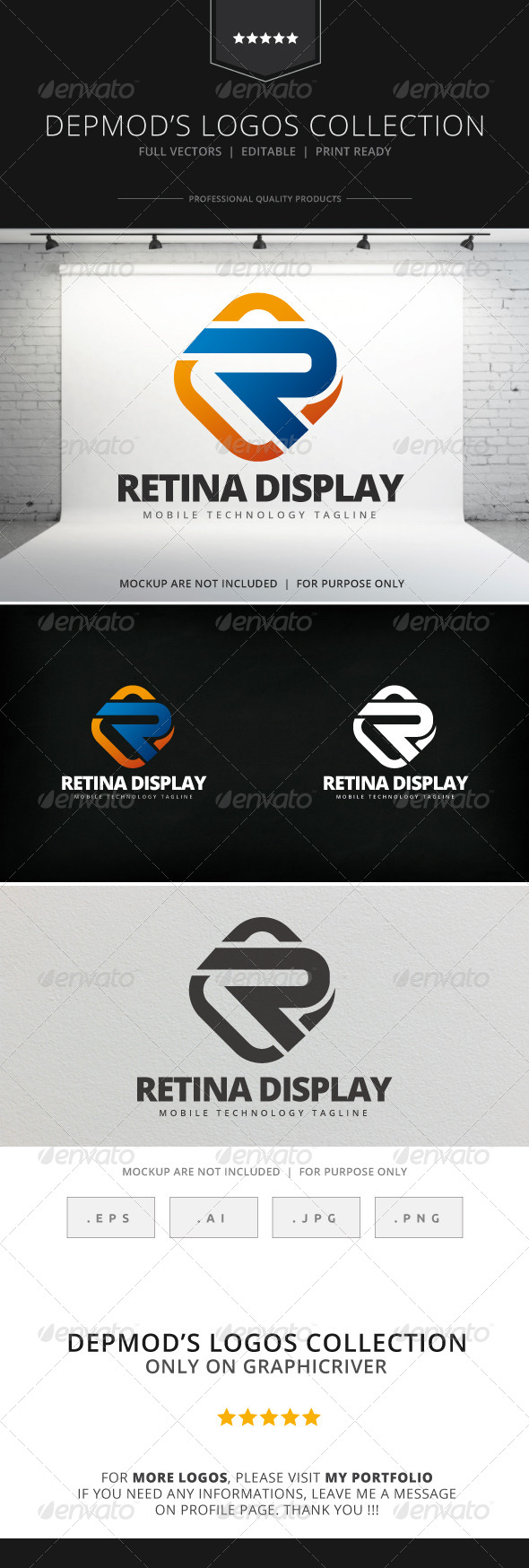 GraphicRiver Retina Display Logo 7972679