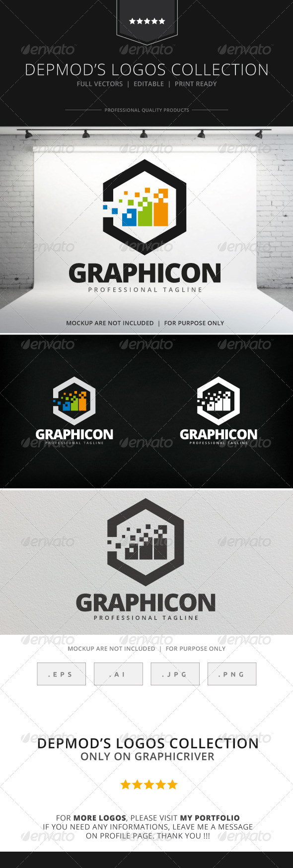 GraphicRiver Graphicon Logo 7972826