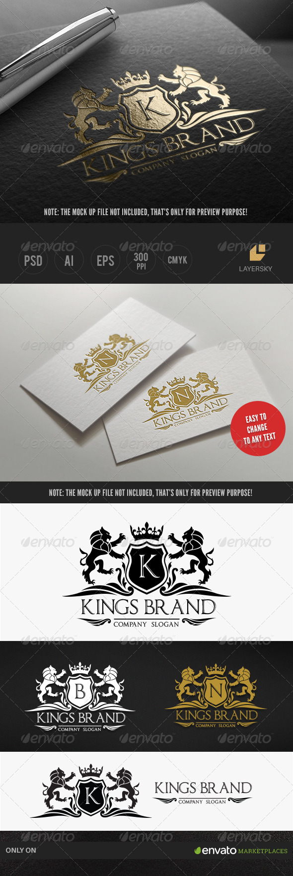 GraphicRiver Kings Brand 7963327