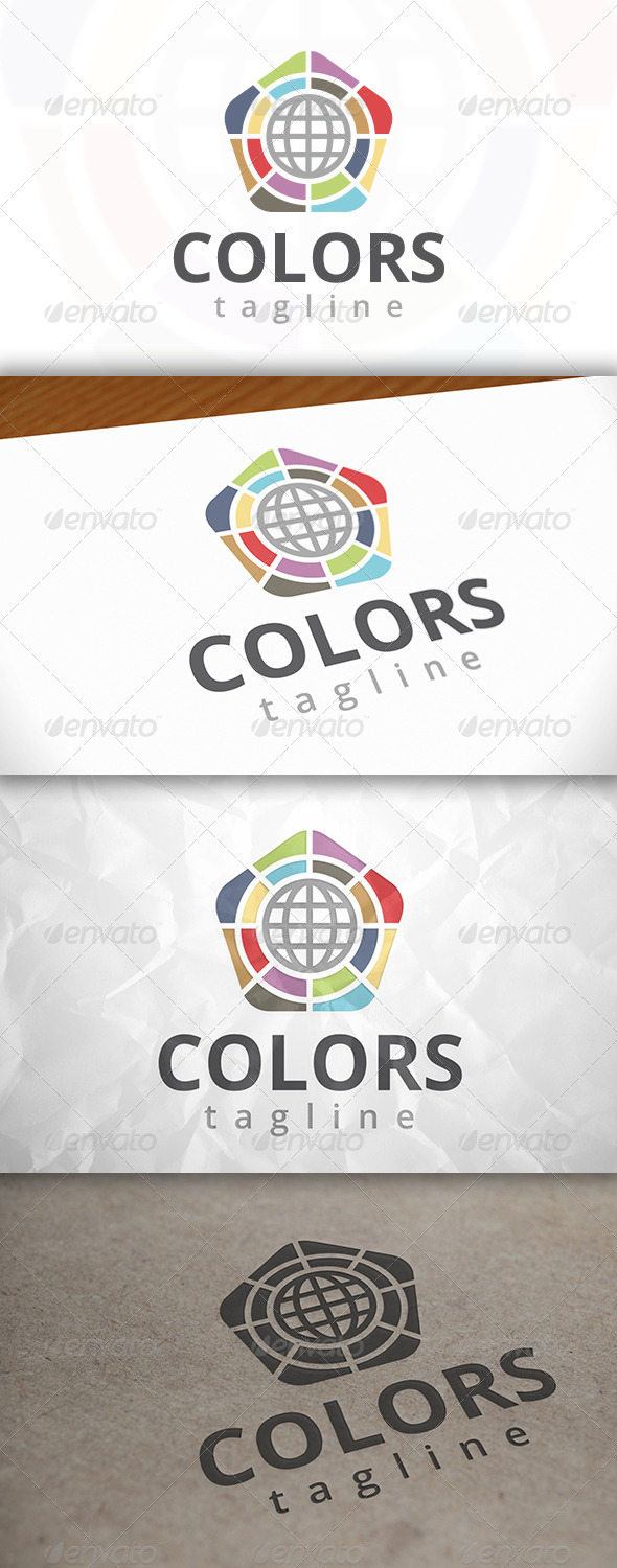 GraphicRiver Colors Logo 7973418