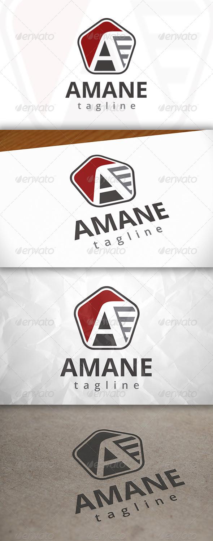 GraphicRiver Amane Logo 7973516
