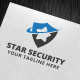 Star Security Logo Template - GraphicRiver Item for Sale