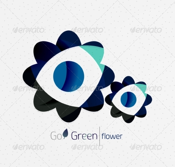 GraphicRiver Green Eco Background 7974049