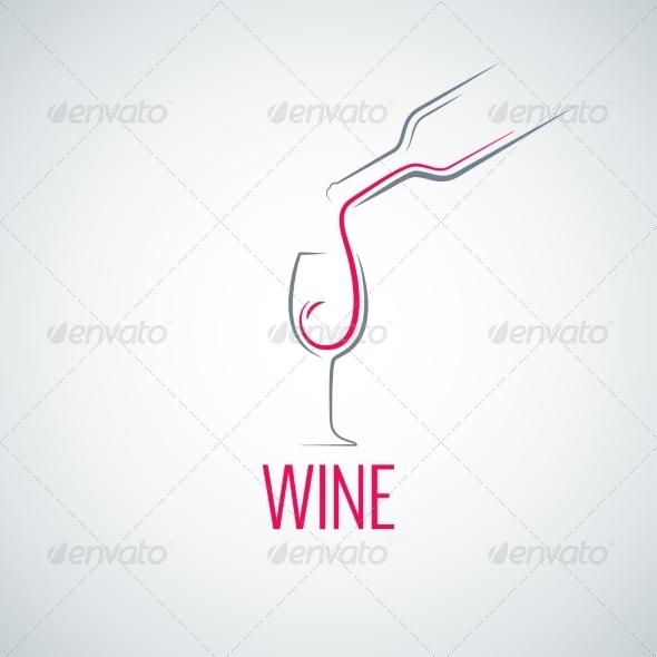 GraphicRiver Wine Glass Menu Background 7974194