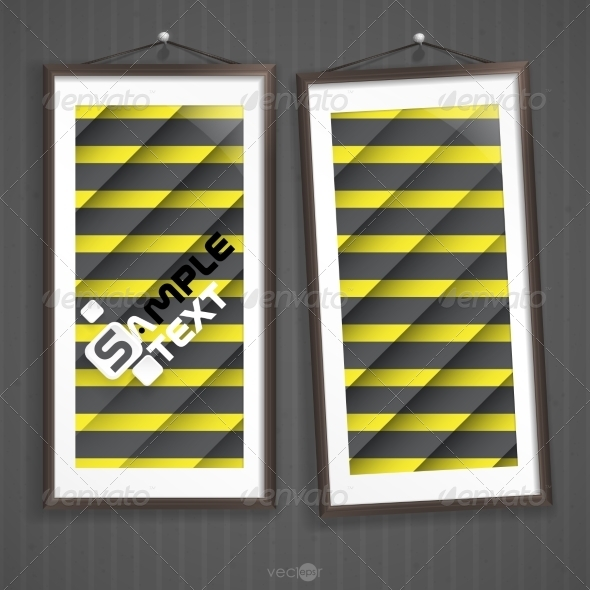 GraphicRiver Two Frames On Wall 7974204