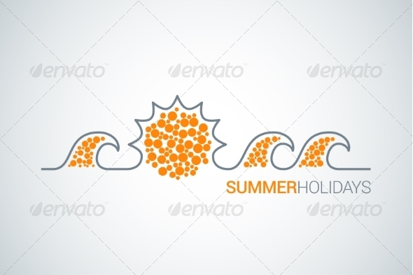 GraphicRiver Summer Holidays Background 7974207