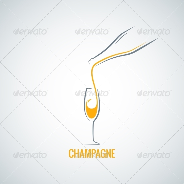 GraphicRiver Champagne Background 7974208