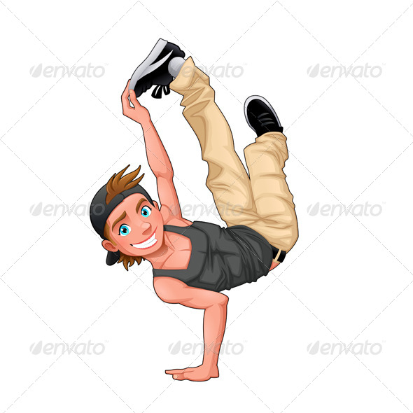 GraphicRiver Breakdancer 7974269