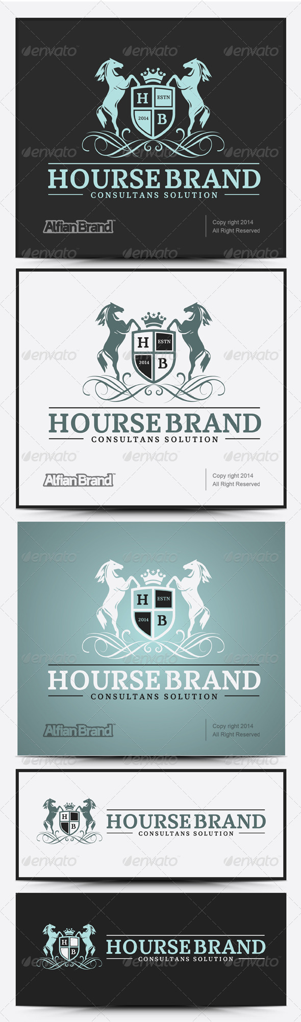 GraphicRiver Royal Hourse Brand V.1 7974809