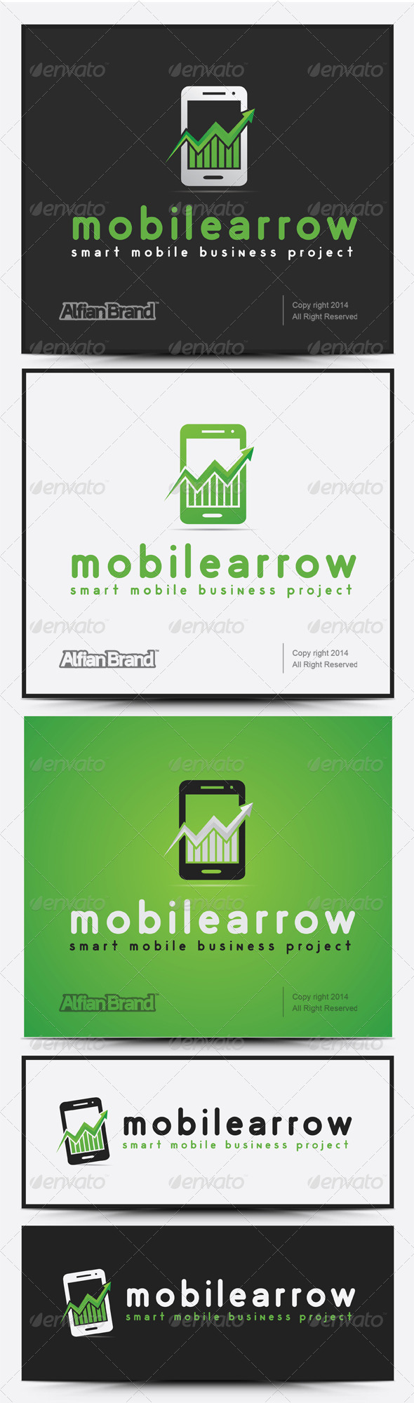 GraphicRiver Mobile Arrow 7974847