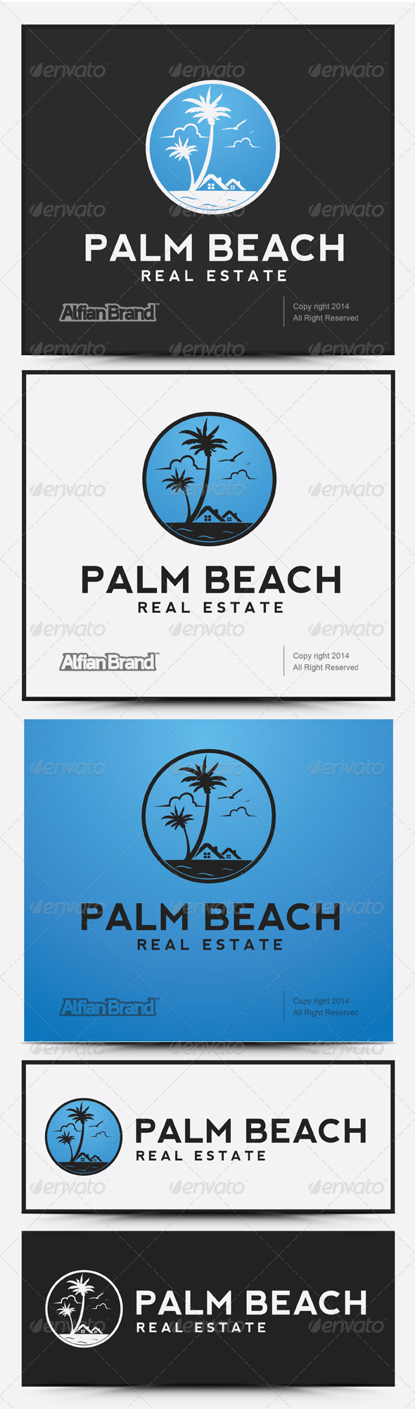 GraphicRiver Palm Beach Real Estate 7974856
