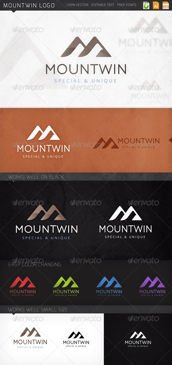GraphicRiver Mountwin Logo 7976559