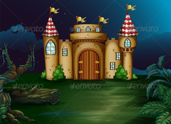 GraphicRiver Castle at the Forest 7977555