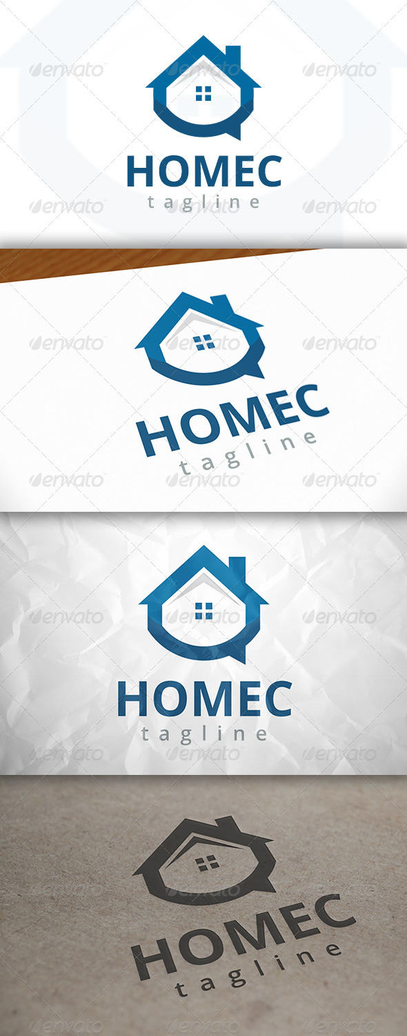 GraphicRiver Home Chat Logo 7978285