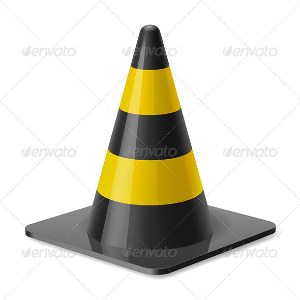 GraphicRiver Traffic Cone 7980041