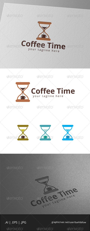 GraphicRiver Coffee Time Logo 7980072