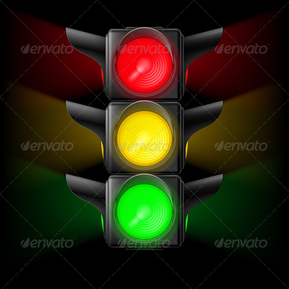GraphicRiver Traffic Light 7980087