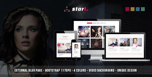 ThemeForest Start Multipurpose HTML5 Template 7940621