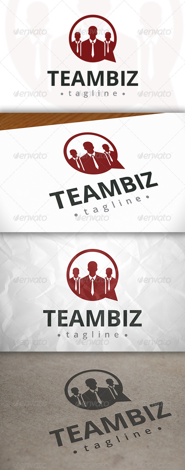 GraphicRiver Business Chat Logo 7983929