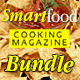 Smart Food Cooking Magazine Bundle - GraphicRiver Item for Sale