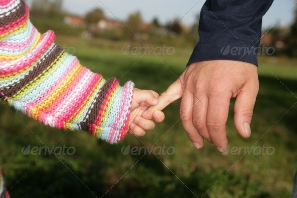 Hand holding - Stock Photo - Images