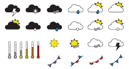 Forecast Icons (26x)
