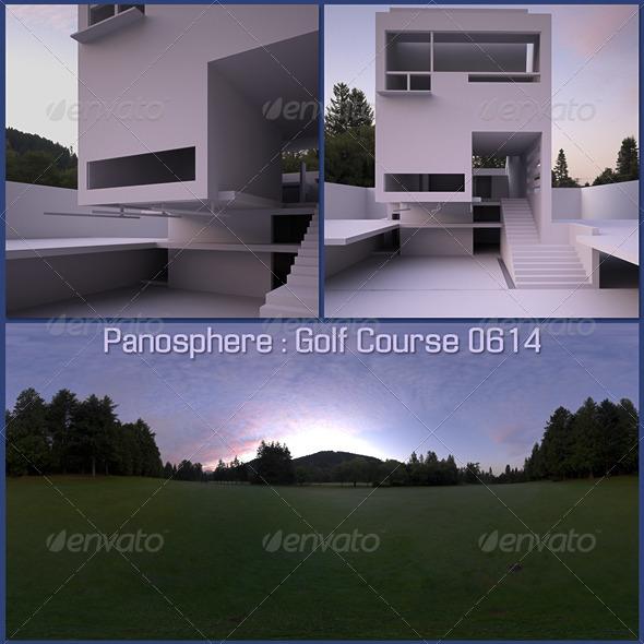 3DOcean Panosphere HDRI Golf Course 0614 818801