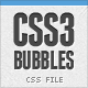 CSS3 Bubbles