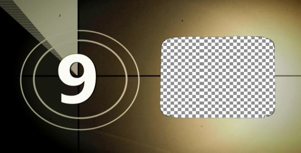 [VideoHive 820631] Film Countdown with your Production Logo | Motion Graphics