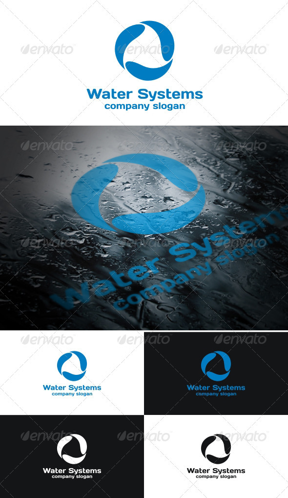 Water Systems_v2 - Symbols Logo Templates