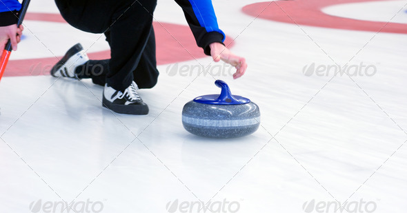 Curling - Stock Photo - Images