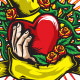 Stylish Heart Tattoo - GraphicRiver Item for Sale
