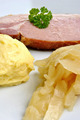 cooked organic back bacon joint with cabbage - PhotoDune Item for Sale