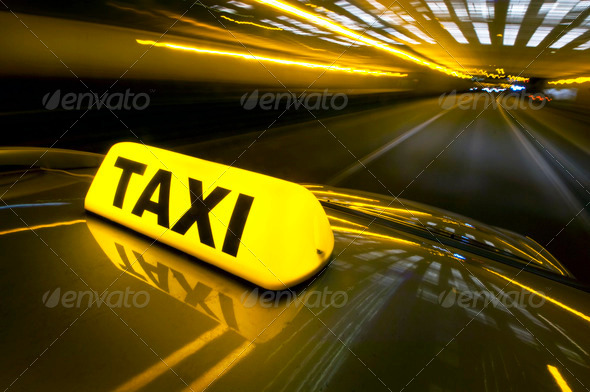 Stock Photo - PhotoDune Fast taxi 832658