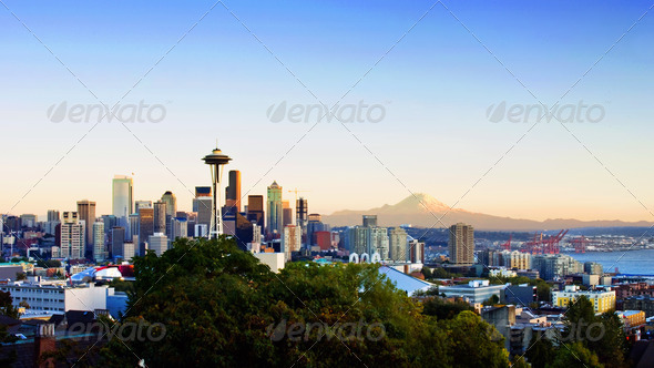 Stock Photo - PhotoDune Seattle Skyline 833600