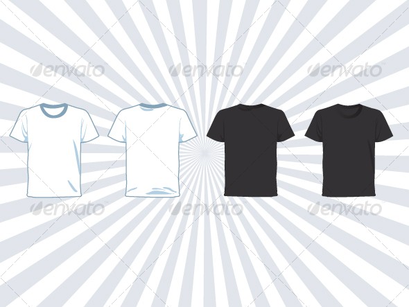 Male Vector Shirt - Retail Commercial / Shopping