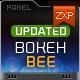 BokehBee - Bokeh Rain Lens--Graphicriver中文最全的素材分享平台