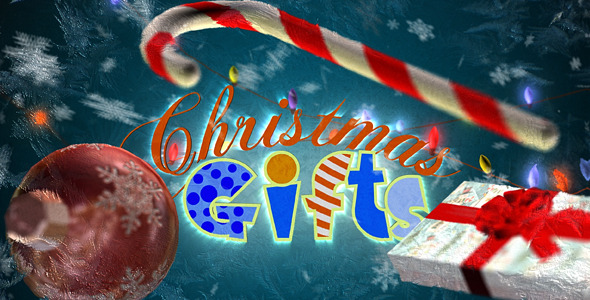 After Effects Project - VideoHive Christmas gifts 840892