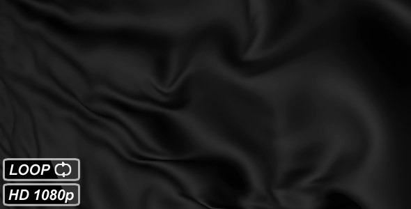 Black Fabric Textile Background VideoHive Motion Graphic  Backgrounds  3D Object 785835