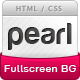 Pearl - Light Full Screen Background Template - ThemeForest Item for Sale