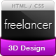 Freelancer Portfolio Template - Light & Dark - ThemeForest Item for Sale