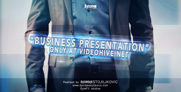 After Effects Project - VideoHive The Business Presentation 841648