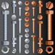 Bolts and Screws - GraphicRiver Item for Sale