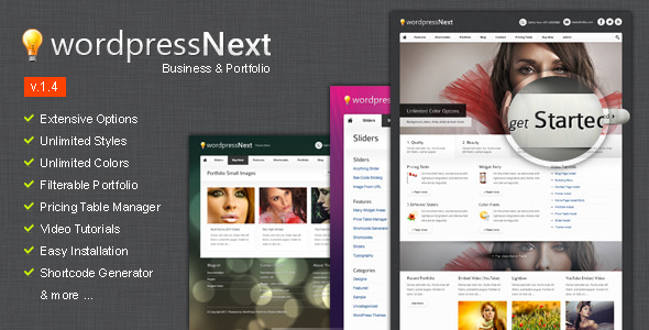WordPressNext - WordPress Premium Theme