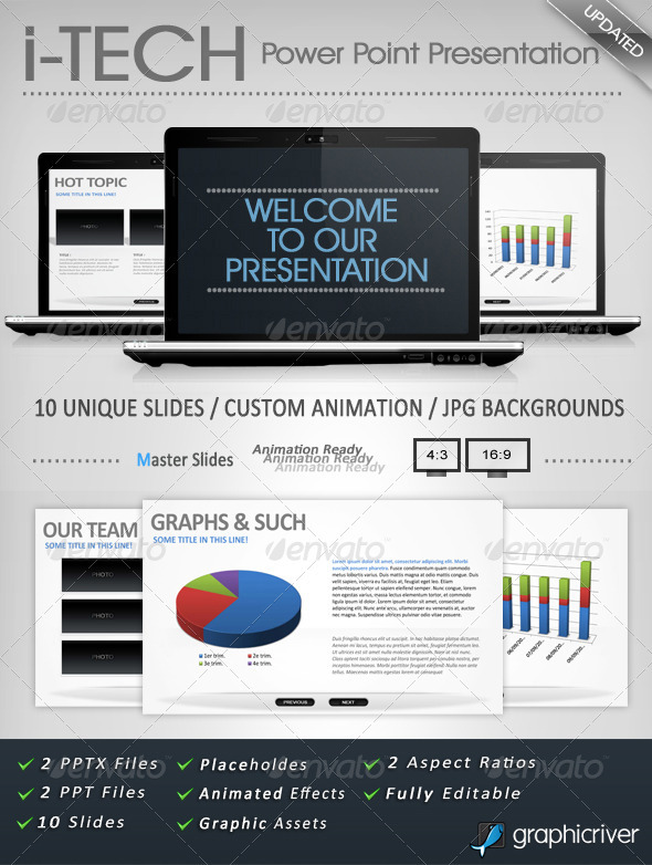 i-TECH PowerPoint Presentation - Powerpoint Templates Presentation Templates