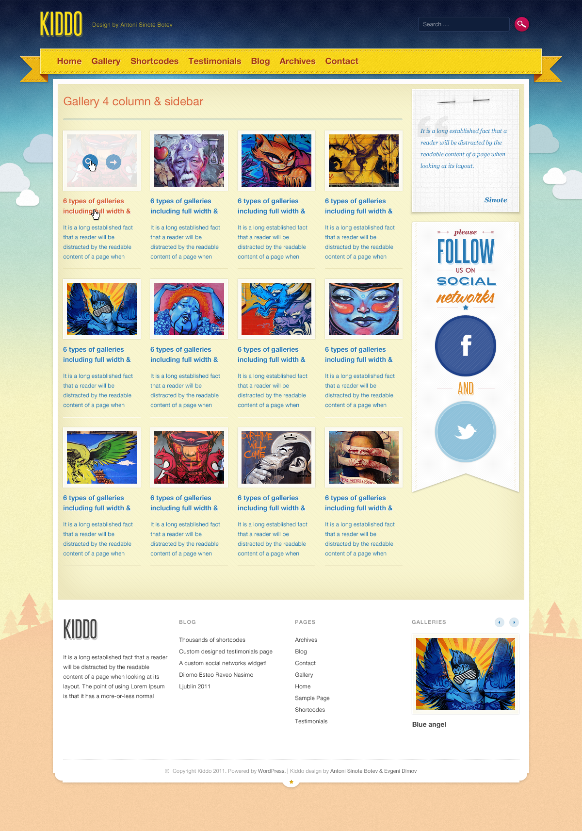 Kiddo: HTML Kids Templates