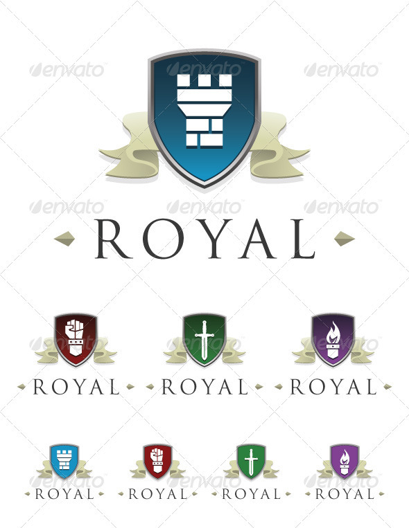 Royal - Crests Logo Templates