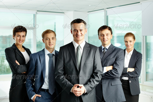 Team and leader - Stock Photo - Images