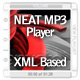 Neat MP3 Player - XML Based - Cover Art - ActiveDen Item for Sale