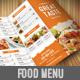 Food Menu Pack 1-Graphicriver中文最全的素材分享平台